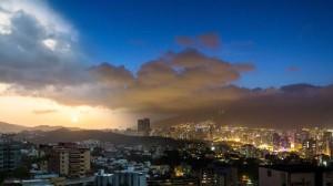 Caracas-dal-Giorno-alla-Notte,-Venezuela