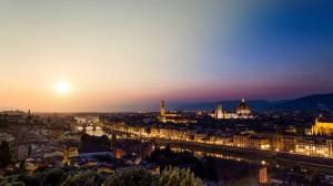 Firenze-dal-Giorno-alla-Notte,-Italia